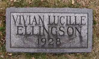 ELLINGSON, VIVIAN LUCILLE - Moody County, South Dakota | VIVIAN LUCILLE ELLINGSON - South Dakota Gravestone Photos