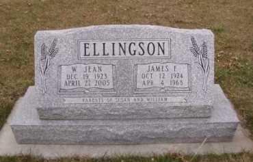 ELLINGSON, W JEAN - Moody County, South Dakota | W JEAN ELLINGSON - South Dakota Gravestone Photos