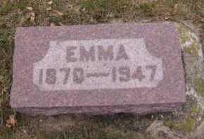 ERICKSON, EMMA - Moody County, South Dakota   EMMA ERICKSON - South Dakota Gravestone Photos