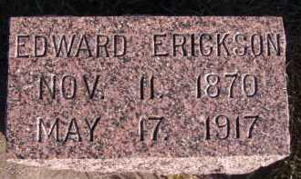 ERICKSON, EDWARD - Moody County, South Dakota | EDWARD ERICKSON - South Dakota Gravestone Photos