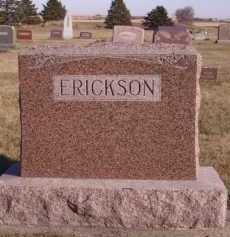 ERICKSON, FAMILY - Moody County, South Dakota | FAMILY ERICKSON - South Dakota Gravestone Photos