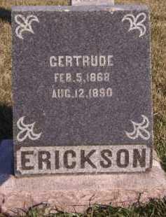 ERICKSON, GERTRUDE - Moody County, South Dakota | GERTRUDE ERICKSON - South Dakota Gravestone Photos