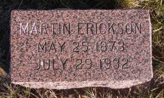 ERICKSON, MARTIN - Moody County, South Dakota | MARTIN ERICKSON - South Dakota Gravestone Photos