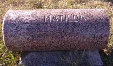 ERICKSON, MATILDA - Moody County, South Dakota | MATILDA ERICKSON - South Dakota Gravestone Photos
