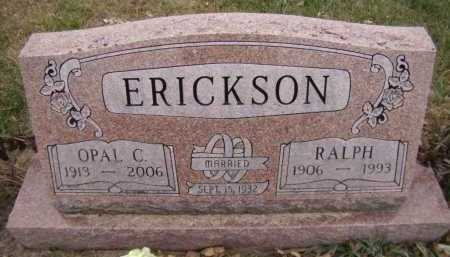 ERICKSON, OPAL C - Moody County, South Dakota | OPAL C ERICKSON - South Dakota Gravestone Photos