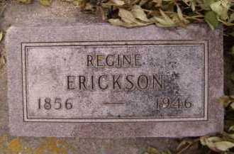ERICKSON, REGINE - Moody County, South Dakota | REGINE ERICKSON - South Dakota Gravestone Photos