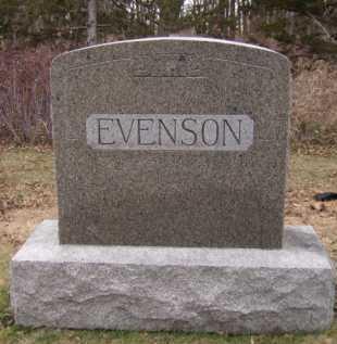 EVENSON, FAMILY - Moody County, South Dakota | FAMILY EVENSON - South Dakota Gravestone Photos