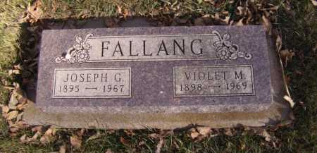 FALLING, VIOLET M - Moody County, South Dakota | VIOLET M FALLING - South Dakota Gravestone Photos