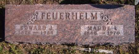 FEUERHELM, EDWARD J - Moody County, South Dakota | EDWARD J FEUERHELM - South Dakota Gravestone Photos