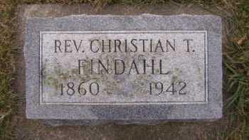 FINDAHL, CHRISTIAN T - Moody County, South Dakota | CHRISTIAN T FINDAHL - South Dakota Gravestone Photos