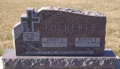 FOLKERTS, JAMES C - Moody County, South Dakota | JAMES C FOLKERTS - South Dakota Gravestone Photos