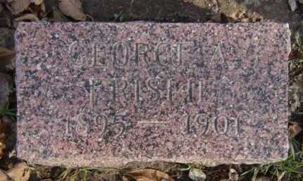 FRISLIE, GEORGE A - Moody County, South Dakota | GEORGE A FRISLIE - South Dakota Gravestone Photos