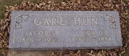 GARETHUN, IDA O - Moody County, South Dakota | IDA O GARETHUN - South Dakota Gravestone Photos