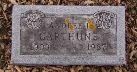 DAHL GARTHUNE, ANDREE I - Moody County, South Dakota | ANDREE I DAHL GARTHUNE - South Dakota Gravestone Photos
