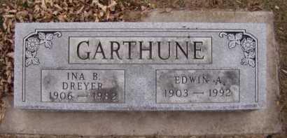GARTHUNE, EDWIN A - Moody County, South Dakota | EDWIN A GARTHUNE - South Dakota Gravestone Photos