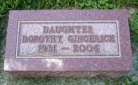 GINGERICH, DOROTHY - Moody County, South Dakota | DOROTHY GINGERICH - South Dakota Gravestone Photos