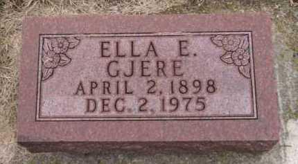 JOHNSON GJERE, ELLA E - Moody County, South Dakota | ELLA E JOHNSON GJERE - South Dakota Gravestone Photos