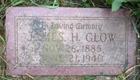 GLOW, JAMES H. - Moody County, South Dakota | JAMES H. GLOW - South Dakota Gravestone Photos