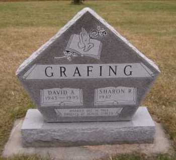 GRAFING, DAVID A - Moody County, South Dakota | DAVID A GRAFING - South Dakota Gravestone Photos