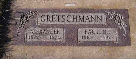 GRETSCHMANN, PAULINE - Moody County, South Dakota | PAULINE GRETSCHMANN - South Dakota Gravestone Photos
