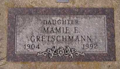 GRETSCHMANN, MAMIE E - Moody County, South Dakota | MAMIE E GRETSCHMANN - South Dakota Gravestone Photos