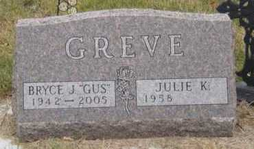 GREVE, JULIE K - Moody County, South Dakota | JULIE K GREVE - South Dakota Gravestone Photos