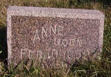 GRINDBERG, ANNE - Moody County, South Dakota | ANNE GRINDBERG - South Dakota Gravestone Photos