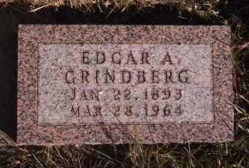 GRINDBERG, EDGAR A - Moody County, South Dakota | EDGAR A GRINDBERG - South Dakota Gravestone Photos