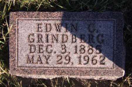 GRINDBERG, EDWIN C - Moody County, South Dakota | EDWIN C GRINDBERG - South Dakota Gravestone Photos