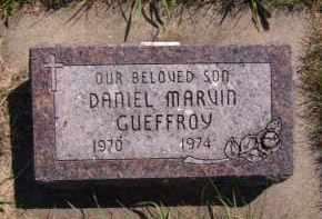 GUEFFROY, DANIEL MARVIN - Moody County, South Dakota | DANIEL MARVIN GUEFFROY - South Dakota Gravestone Photos