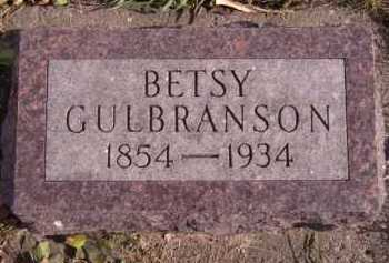 GULBRANSON, BETSY - Moody County, South Dakota | BETSY GULBRANSON - South Dakota Gravestone Photos