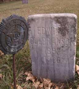 GULBRANSON, EDWIN - Moody County, South Dakota | EDWIN GULBRANSON - South Dakota Gravestone Photos