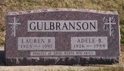 GULBRANSON, ADELE B - Moody County, South Dakota   ADELE B GULBRANSON - South Dakota Gravestone Photos