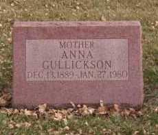 GULLICKSON, ANNA - Moody County, South Dakota | ANNA GULLICKSON - South Dakota Gravestone Photos