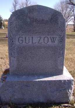 GULZOW, FAMILY - Moody County, South Dakota | FAMILY GULZOW - South Dakota Gravestone Photos