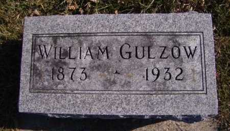 GULZOW, WILLIAM - Moody County, South Dakota | WILLIAM GULZOW - South Dakota Gravestone Photos