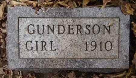 GUNDERSON, BABY GIRL - Moody County, South Dakota | BABY GIRL GUNDERSON - South Dakota Gravestone Photos