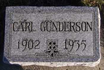 GUNDERSON, CARL - Moody County, South Dakota | CARL GUNDERSON - South Dakota Gravestone Photos