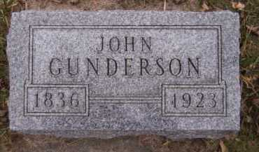 GUNDERSON, JOHN - Moody County, South Dakota | JOHN GUNDERSON - South Dakota Gravestone Photos