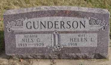 GUNDERSON, HELEN L - Moody County, South Dakota | HELEN L GUNDERSON - South Dakota Gravestone Photos