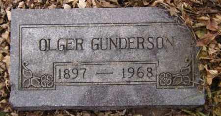 GUNDERSON, OLGER - Moody County, South Dakota | OLGER GUNDERSON - South Dakota Gravestone Photos