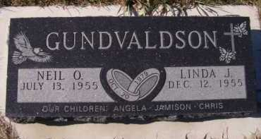 GUNDVALDSON, NEIL O - Moody County, South Dakota | NEIL O GUNDVALDSON - South Dakota Gravestone Photos