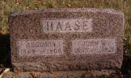 HAASE, AUGUSTA - Moody County, South Dakota | AUGUSTA HAASE - South Dakota Gravestone Photos