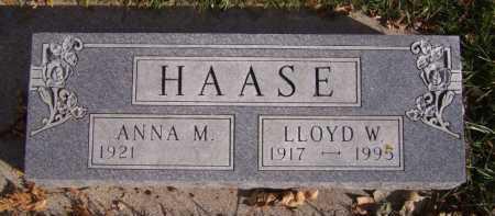 HAASE, ANNA M - Moody County, South Dakota | ANNA M HAASE - South Dakota Gravestone Photos