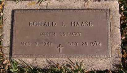 HAASE, RONALD L - Moody County, South Dakota | RONALD L HAASE - South Dakota Gravestone Photos