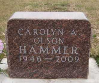 HAMMER, CAROLYN A - Moody County, South Dakota | CAROLYN A HAMMER - South Dakota Gravestone Photos