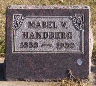 HANDBERG, MABEL V - Moody County, South Dakota | MABEL V HANDBERG - South Dakota Gravestone Photos