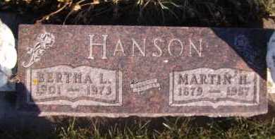 HANSON, BERTHA L - Moody County, South Dakota | BERTHA L HANSON - South Dakota Gravestone Photos