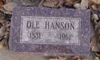 HANSON, OLE - Moody County, South Dakota | OLE HANSON - South Dakota Gravestone Photos