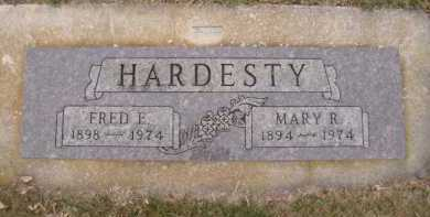 HARDESTY, FRED E - Moody County, South Dakota | FRED E HARDESTY - South Dakota Gravestone Photos